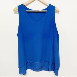 Alice Collection Blue Sleeveless Blouse